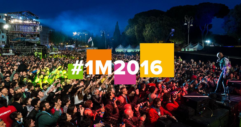 Primo Maggio Roma #1M2016