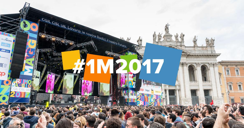 Primo Maggio Roma #1M2017